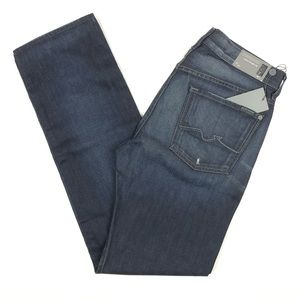 7 For All Mankind Standard Classic Straight Jeans